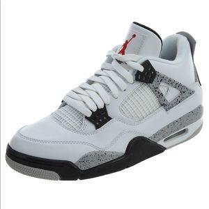 Jordan Shoes - Jordan Retro 4's OG 89' White Cement Size:3 NIB